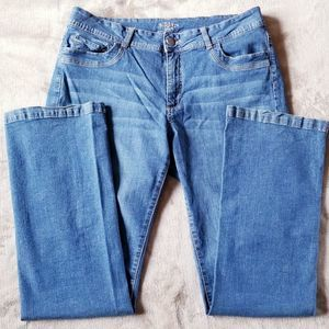 Riders by Lee Straight Leg Blue Jeans Size 16L